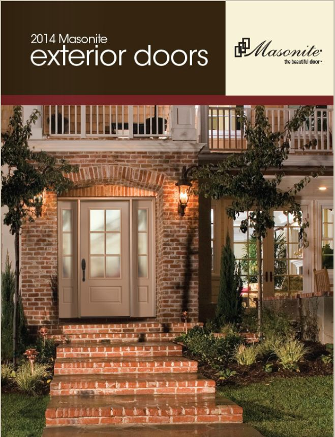 Masonite Exterior Door Catalog & Exterior Doors | Metal | Fiberglass | Wood